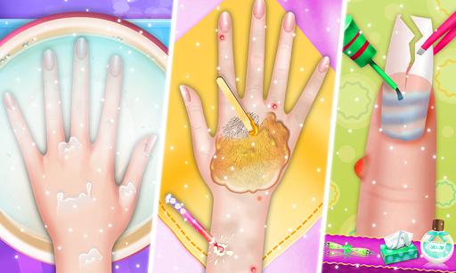 Nail makeup Kit: Fashion doll girls games 2020 apkdebit screenshots 5