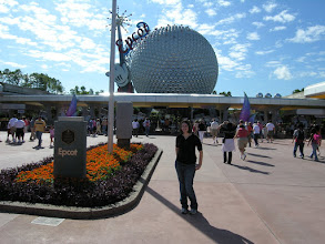 Photo: Epcot here were come