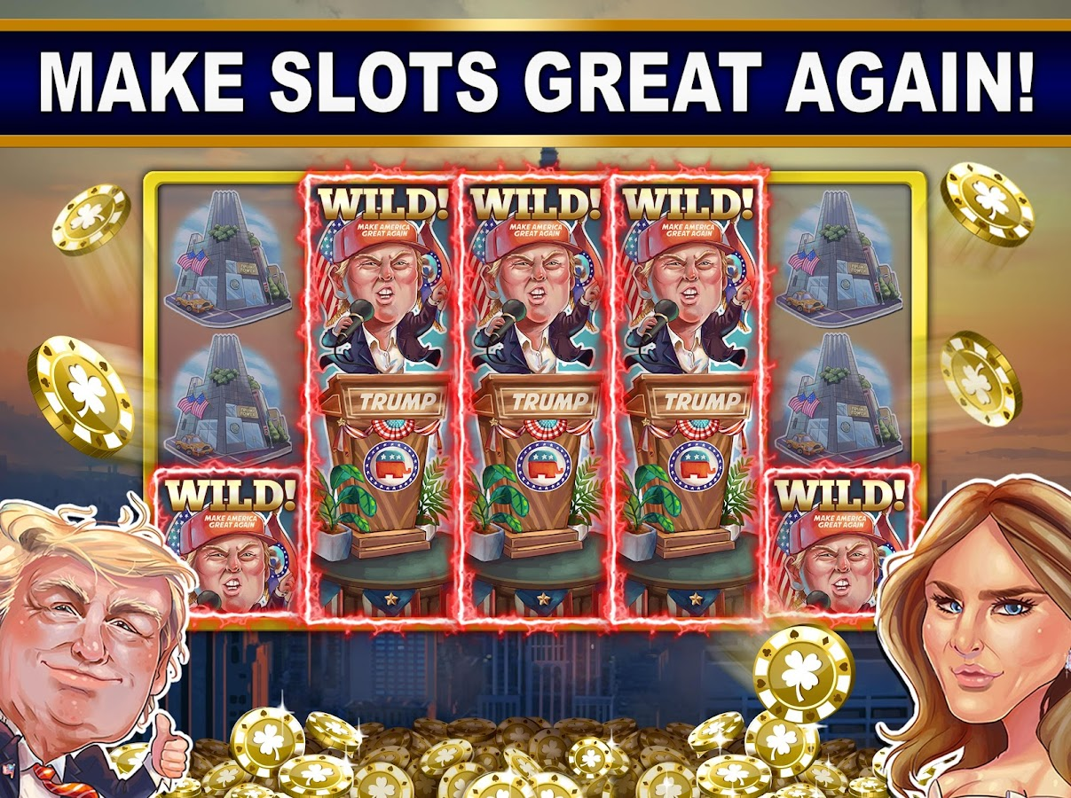 Trump vs Hillary Slot Games! - Android Apps on Google Play