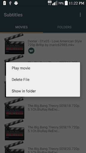 Subtitles 3.1 screenshots 2