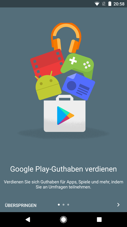 google umfrage app android apps auf google play. Black Bedroom Furniture Sets. Home Design Ideas