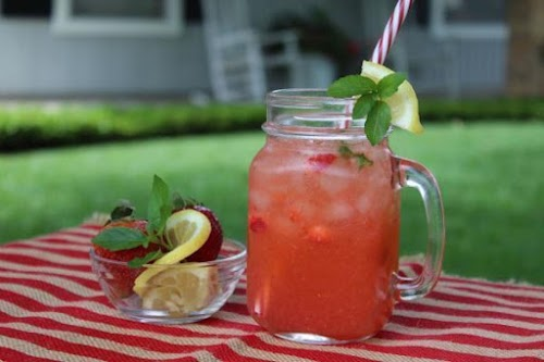 """Sassy Summer Cooler """"This is cool with a little fruitiness but not..."""