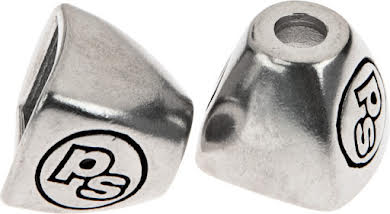 Problem Solvers Downtube Shifter Boss Covers Silver alternate image 0
