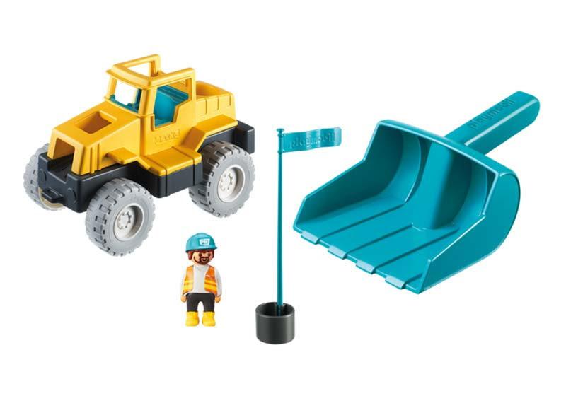 Contenido real de Playmobil® 9145 Excavadora