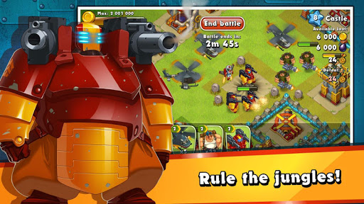 Jungle Heat: War of Clans screenshot 5