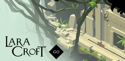 Lara Croft GO game for Android screenshot