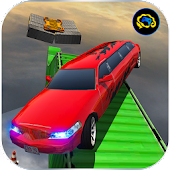 Impossible Limo Driving stunt Simulator-Tracks 17