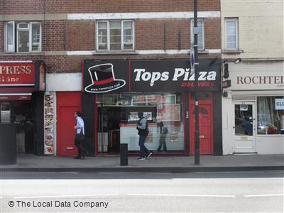 Tops Pizza On Fulham Palace Road Pizza Takeaway In