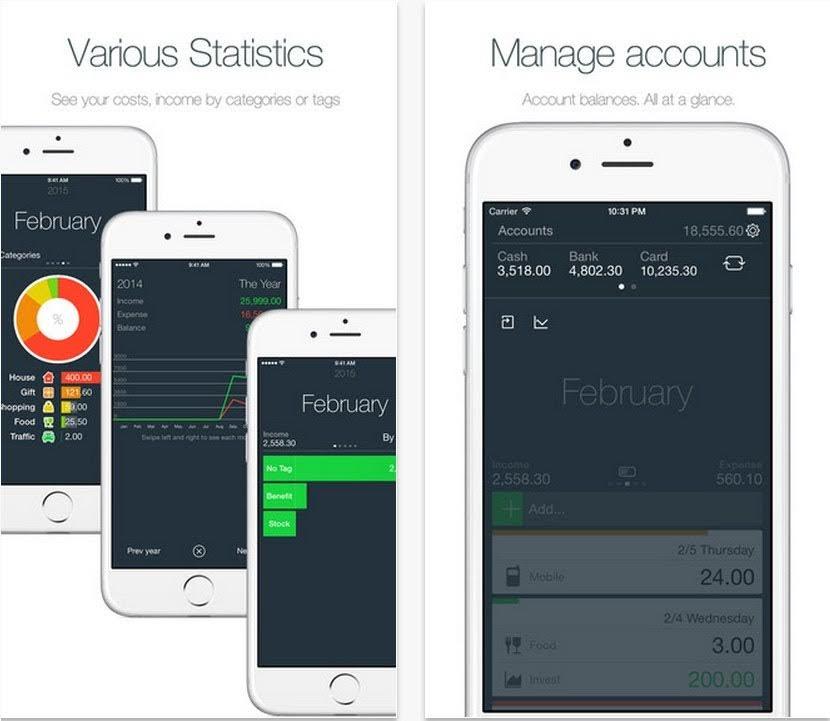APP下載推薦-簡單漂亮!記帳軟體【Money】Money – Track your money easily