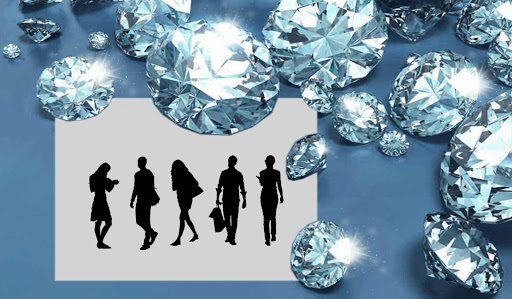 ダイヤモンド フォトフレーム