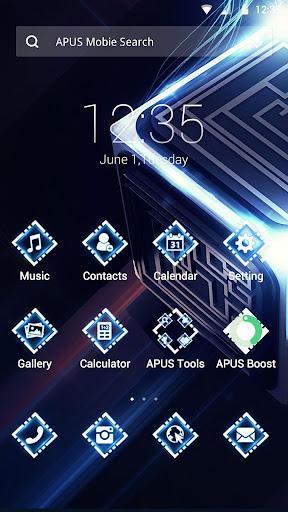 Dream Blue Technology theme