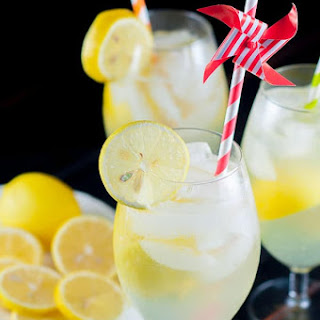 Spiked Lemon Shake-Up Cocktail Recipe