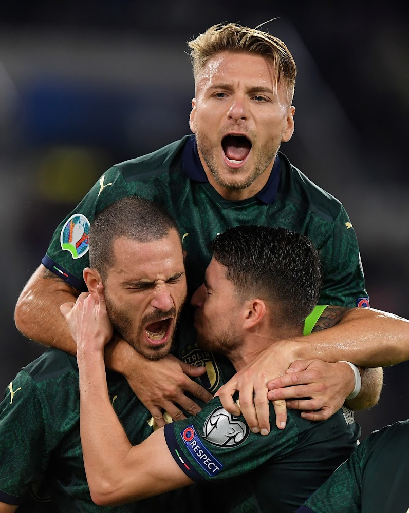 Italy secure Euro 2020 qualification with three games to spare