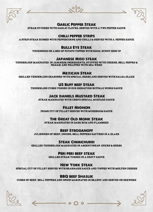 The Grill House menu 3