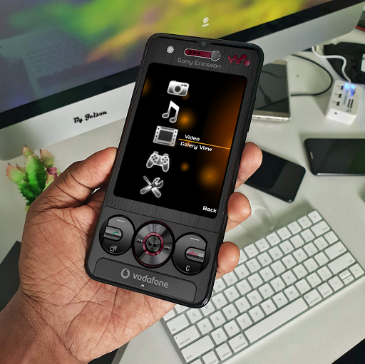 Download Sony Ericsson W705 For KLWP MOD APK 1