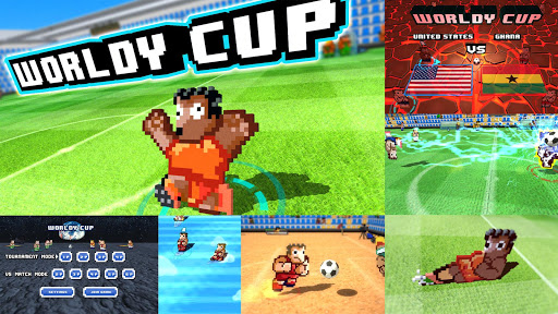Worldy Cup -Super power soccer