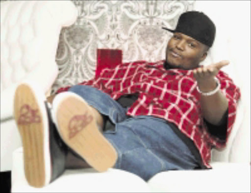 POLE POSITION: Hip-Hop Pantsula has been nominated twice in this year's Channel O Spirit of Africa Video Awards in October. Pic: Kevin Sutherland. Circa July 2009. © Sowetan Hip Hop Pantsula (HHP) at Taboo in Sandton Johannesburg, 08/11/2007. Pic. Kevin Sutherland. 08/11/2007
