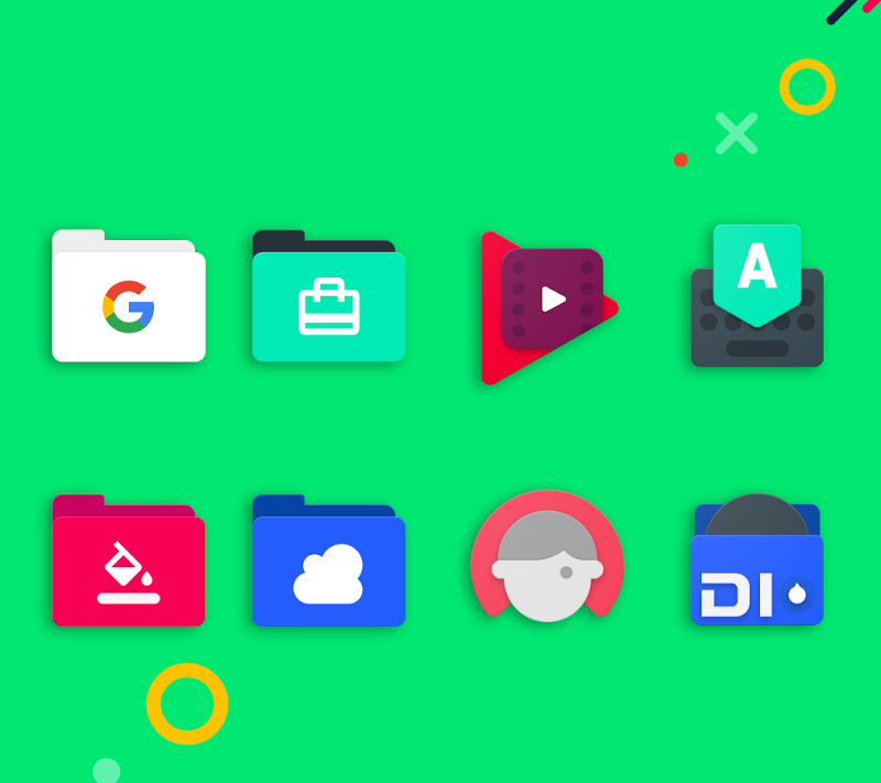 Frozy / Material Design Icon Pack Screenshot 12