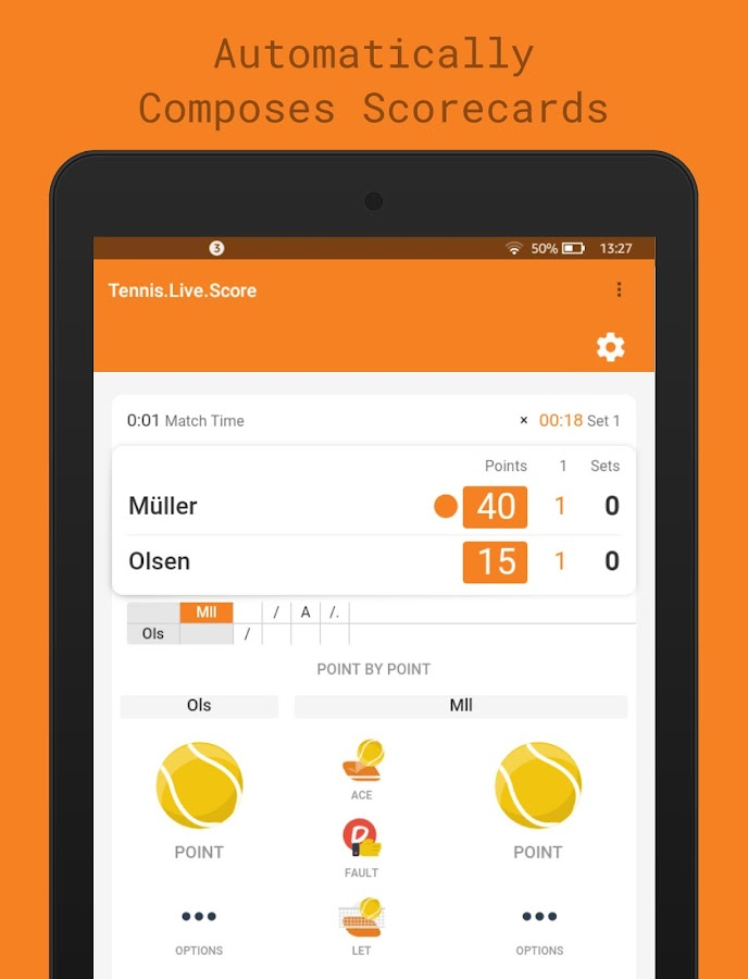 Tickaroo Tennis LIVE Scoring- screenshot