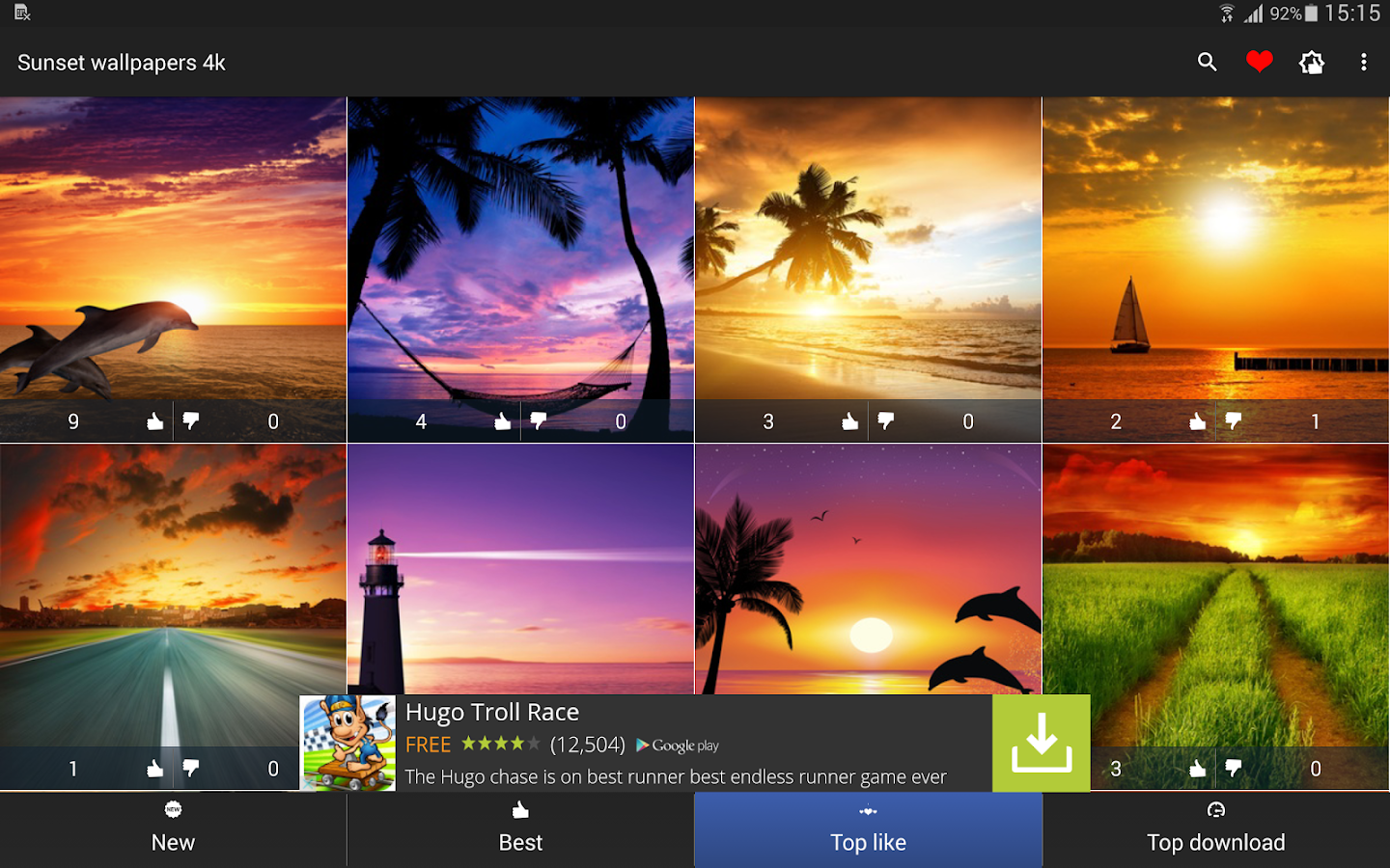 Sunset Wallpapers 4k  Android Apps on Google Play