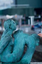 """Photo: 1. plads oktober 2018, foto: Anders Johansen. Tema: """"Udendørs Skulptur i det offentlige rum""""."""