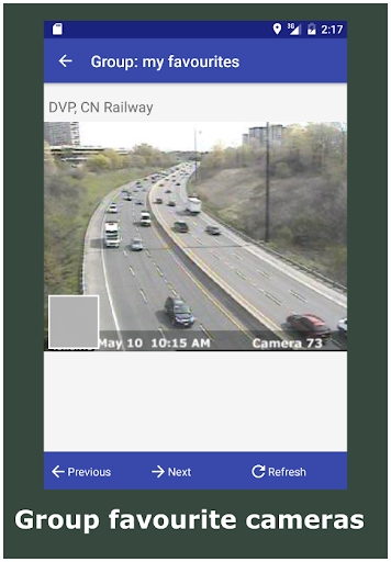 Download Toronto Traffic Cameras Google Play softwares