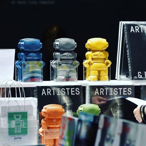 artistes et robots grand palais paris avec les robots de junny