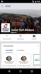 Junior Golf Alliance Colorado screenshot 1