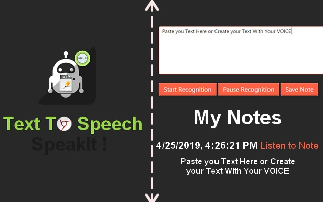 Text To Speech Note
