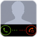 Fake phone call icon