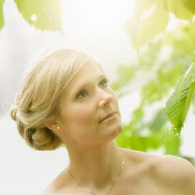 by Sergei Pitkevich - Wedding Bride