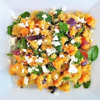 Roast Vegetable Quinoa Salad.