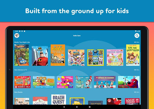 Amazon FreeTime Unlimited: Kids Shows, Games, More 2.0.0.203376 screenshots 11