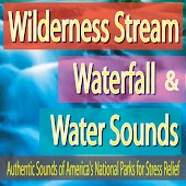 Wilderness Stream, Waterfall & Water Sounds: Authentic Sounds of America's National Parks for Stress Relief
