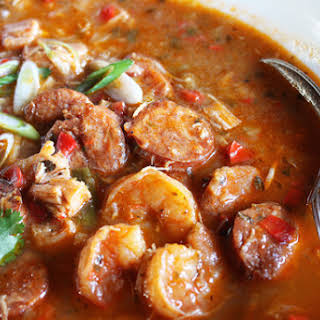 Chicken Sausage Shrimp And Okra Gumbo Recipes.