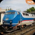 Driving In City Train 2016 icon