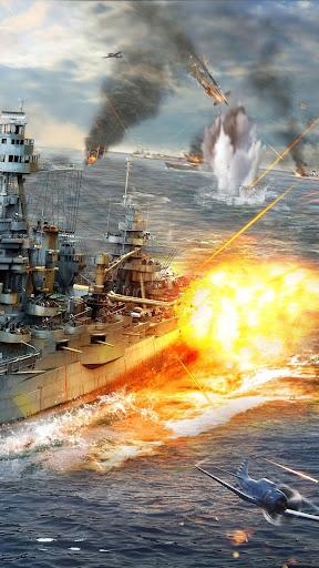 Warship Fury-Le meilleur jeu de guerre navale APK MOD – Monnaie Illimitées (Astuce) screenshots hack proof 2