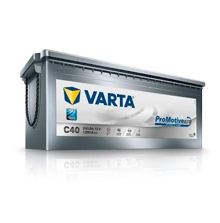 Batteri Varta C40 PRO EFB 240