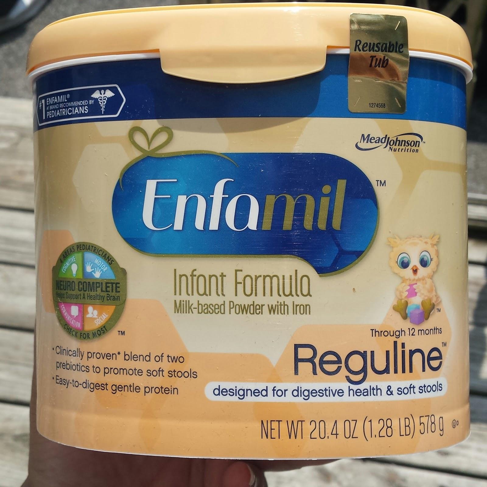 Help Ease Occasional Constipation With Enfamil 174 Reguline