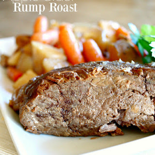 Bottom Round Rump Roast Crock Pot Recipes