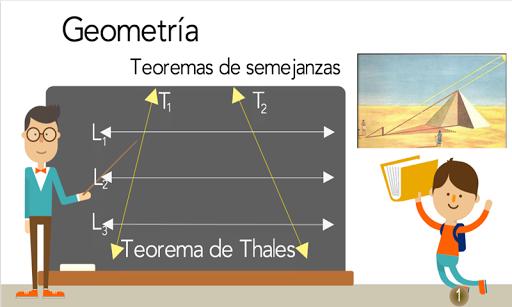 TeoremaThales semejanza trazos 1.0.0 screenshots 6