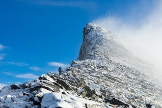 Photo: Per Karlsatind, one of the peaks in the Børvasstindene mountain range, South of Bodø, Northern Norway.