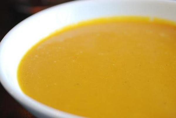 Carrot - Ginger Soup Recipe