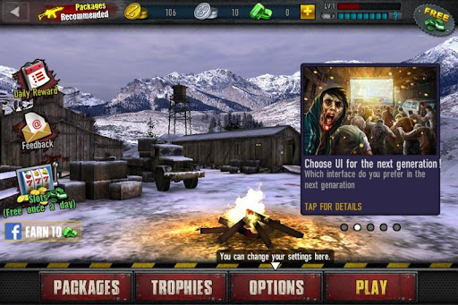 Zombie Frontier 3: Jeu de Tir  captures d'u00e9cran 7