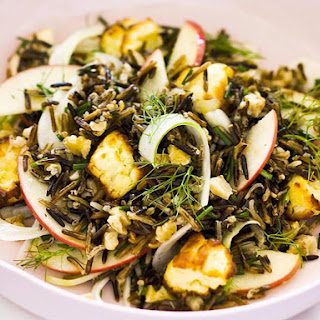 Wild Rice, Apple and Fennel Salad