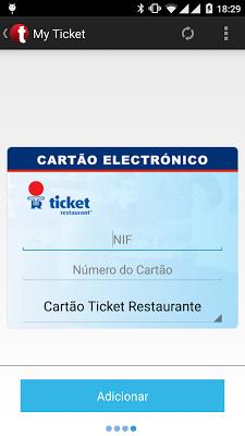 My Ticket - screenshot