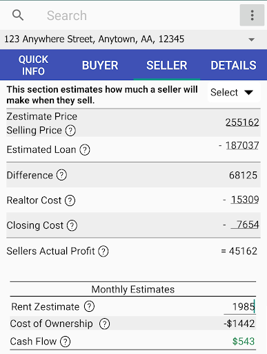 Cash Flow Calculator Pro screenshot 3