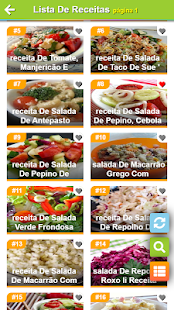 Download Saladas receitas:comida saudável ​​com Nutrição For PC Windows and Mac apk screenshot 2