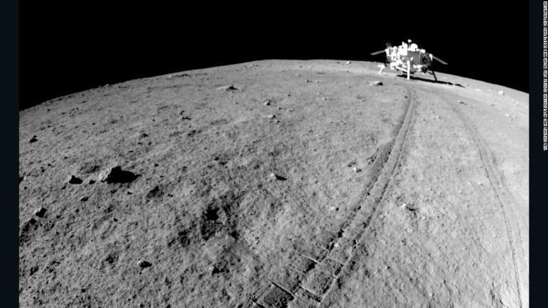Image result for lunar surface with rover
