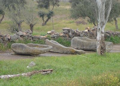 Sarcófagos visigodos en Villaralto